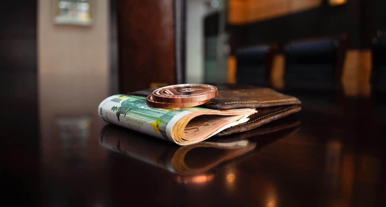 espèces billets et pièces euros