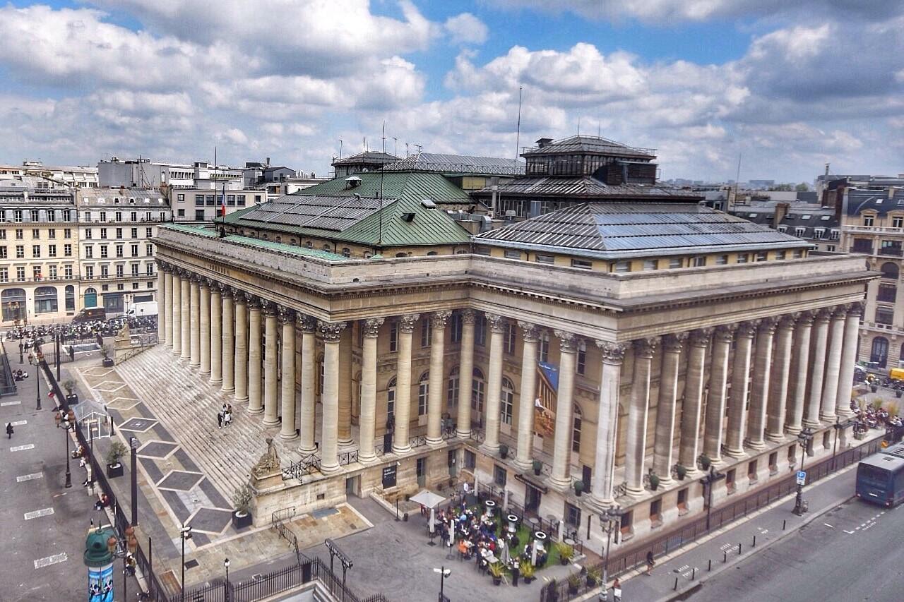 Palais Brongniart, anciennement la bouse de Paris