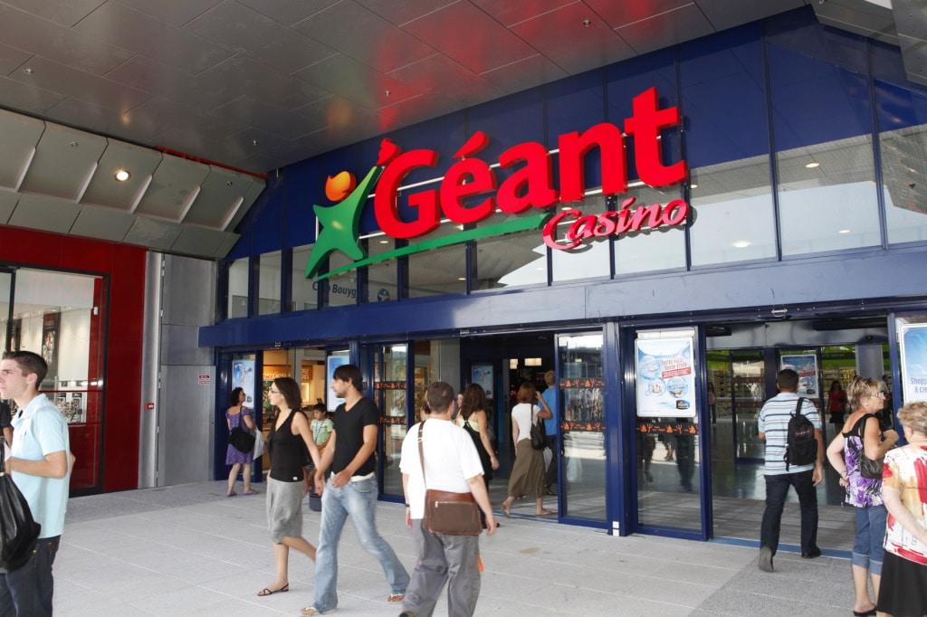 Groupe Casino hypermarché Géant