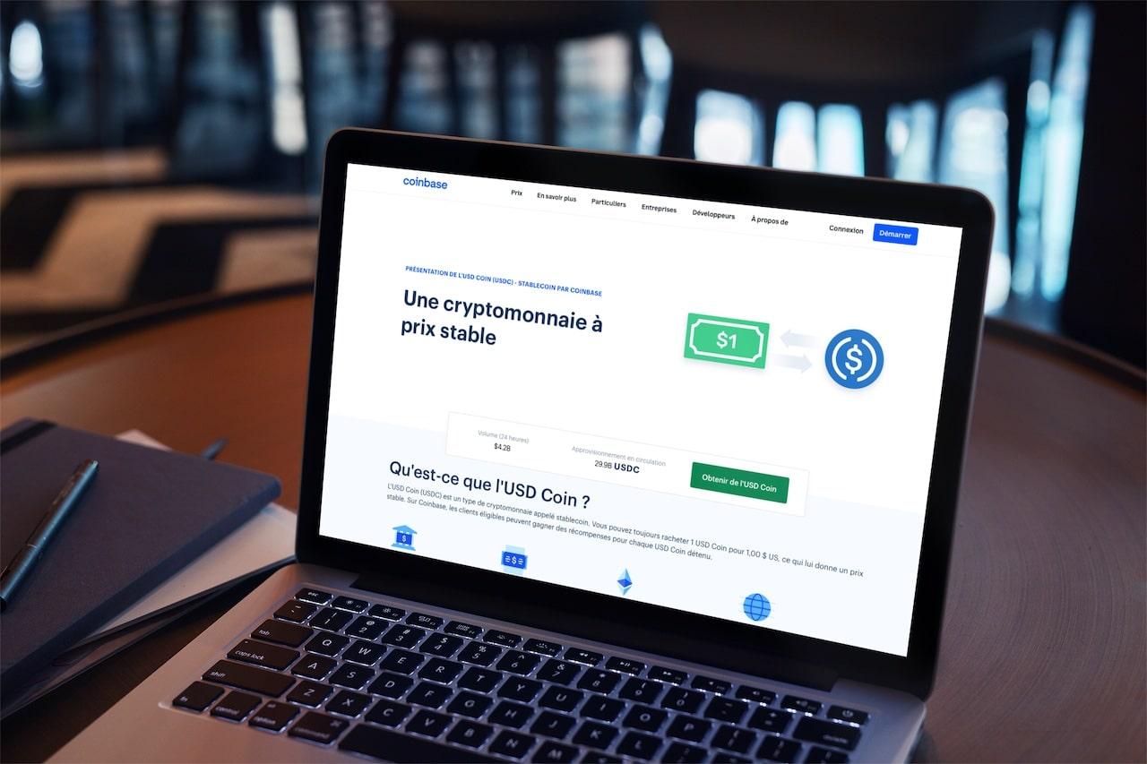 coinbase épargne crypto USDC