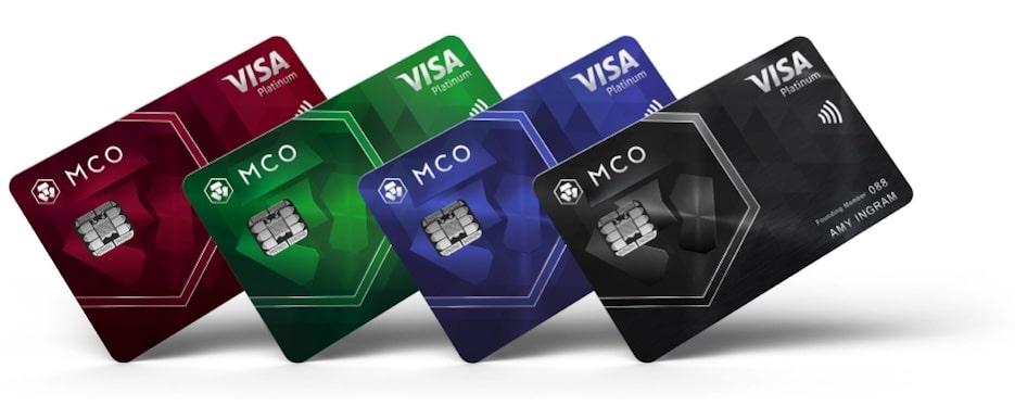 Cartes de débit Visa Crypto.com