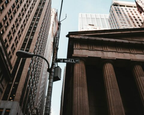 Wall Street, New York, USA