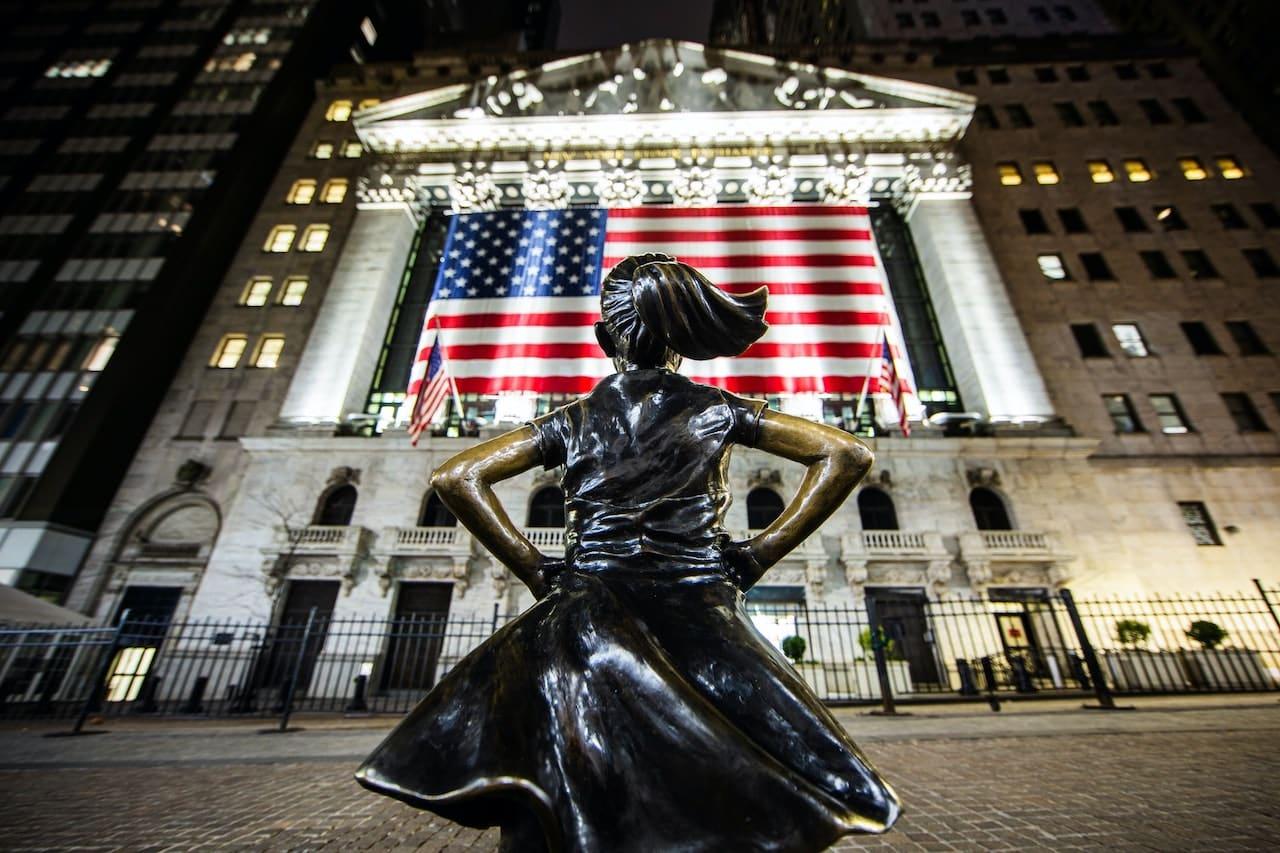 Bourse de Wall Street, New York